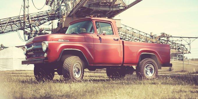 Ford, Pick Up, F Series, Vintage Car Mobile, Pick-up