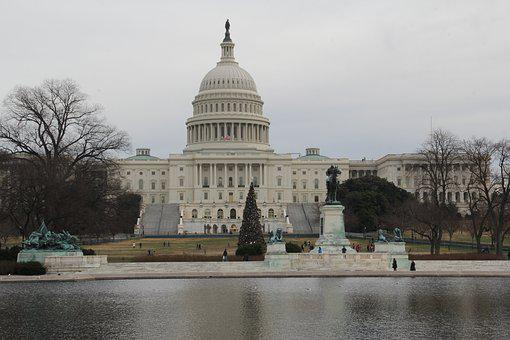 Capitol, Christmas, Government, Washington, Congress
