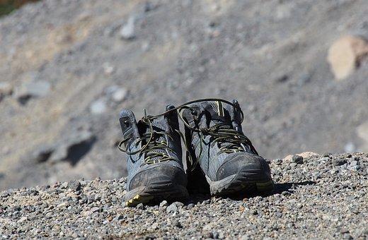 New Zealand, Tongariro National Park, Hiking Boots