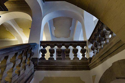 Staircase, Museum, Architecture, Building, Stairs