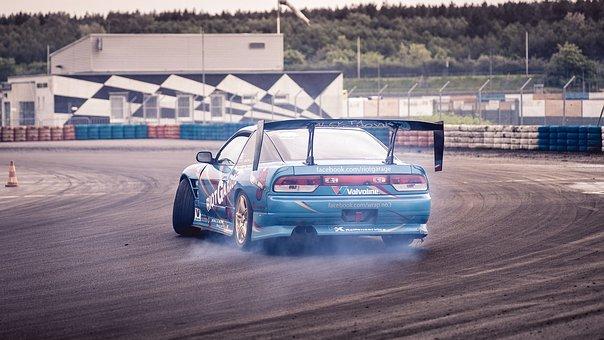 Auto, Racing, Drift, Sports Car, Vehicle, Racing Car