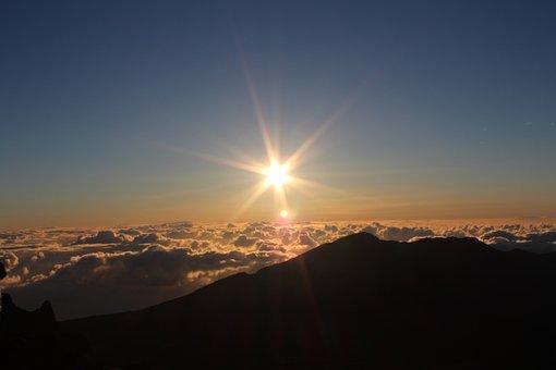 Sunrise, Above The Clouds, Sky