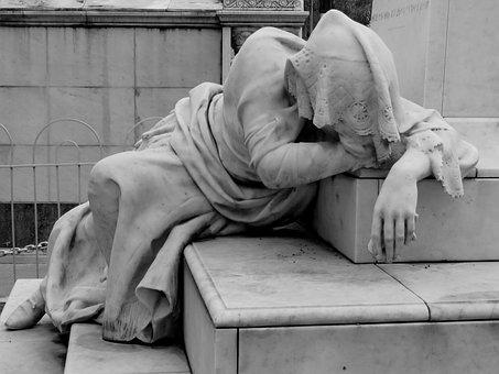 Sculpture, Women, Statue, Monument, Figure, Stone