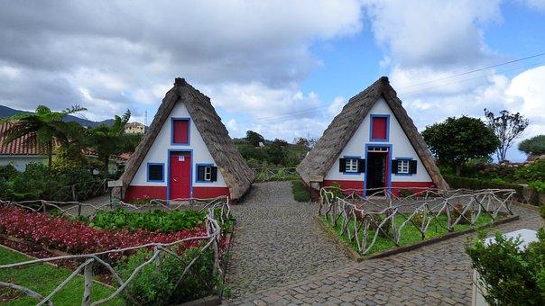 Madeira, Santana, Straw House, Straw Cottage