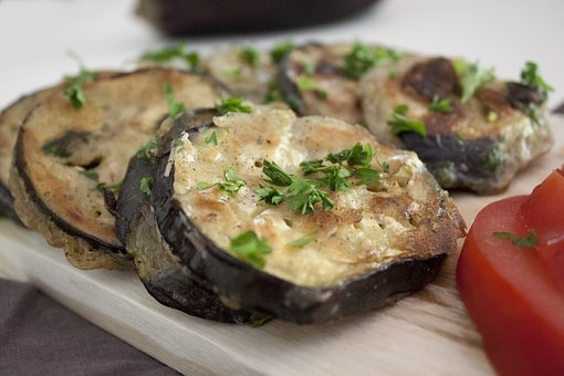 Eggplant, Kitchen, Tomato, Parsley, Vegetables