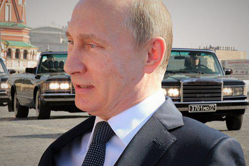 Vladimir Putin, President Of Russia, Red Square, Parade