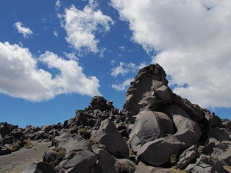 New Zealand, Tongariro National Park, Volcanic