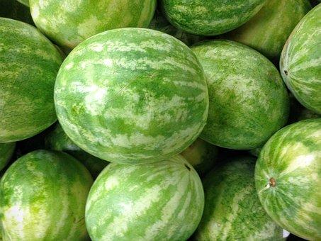 Watermelon, Produce, Fresh, Food, Fruit, Organic