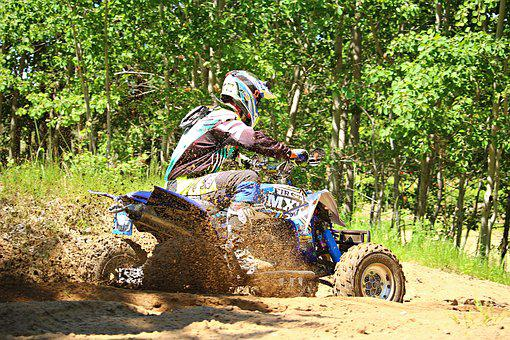Motocross, Quad, Atv, Race, All-terrain Vehicle