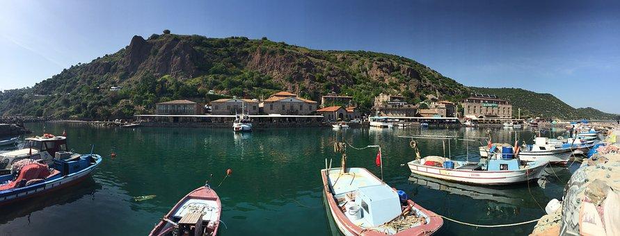 Assos, Ancient Port, Landscape