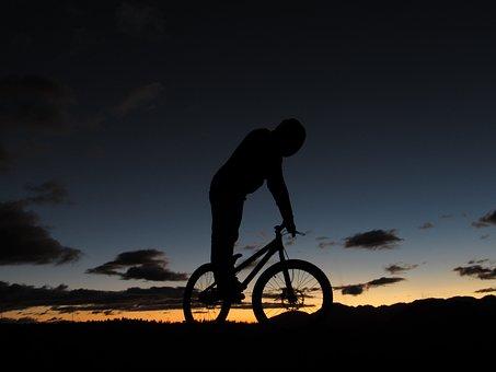 Bike Trial, Mountain, Chimborazo, Ecuador, Bike
