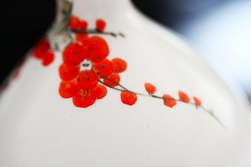 Plum Blossom, Ink, Bottle