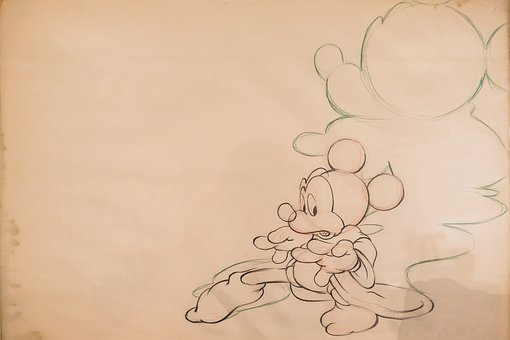 Micky Mouse, Walt Disney, Figure, Cartoon Character