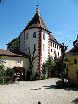 Castle, Middle Ages, Fortress, Egloffstein