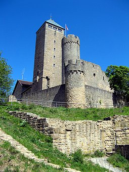 Burgruine, Fortress, Middle Ages, Strong Castle