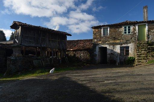 Village, Galicia, I Horreo, Rural, Take It Easy