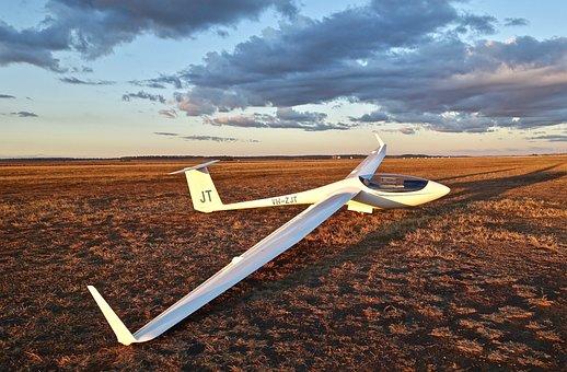 Glider, Sky, Wing, Sailplane, Freedom, Recreation