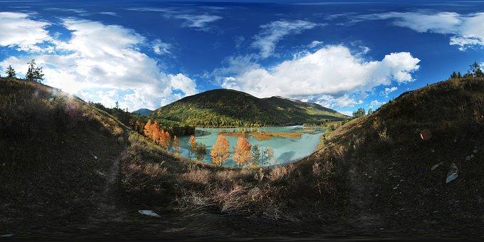 In Xinjiang, Kanas, Hanauma Bay