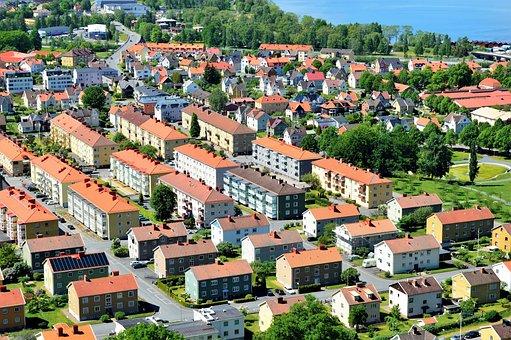 Huskvarna, Lake, Water, Vättern, Jönköping, Sweden
