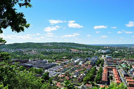 Huskvarna, City, Location, Jönköping, Sweden, Buildings