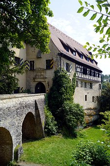 Castle, Fortress, Middle Ages, Building