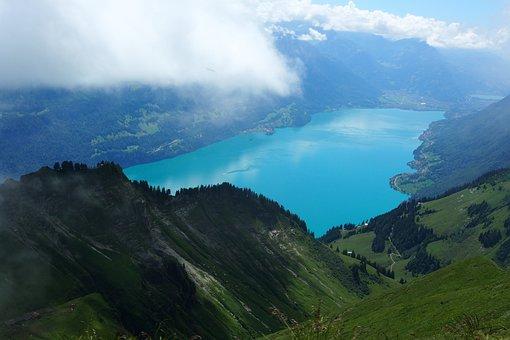 Mountains, Alpine, Brienzer Rothorn