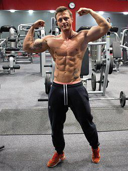 Fitness, Strengthening, Muscles, Man, Boy, Biceps