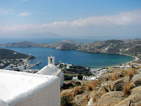 Ios, Chora, Port, Port Motifs, Cyclades, Aegean Sea