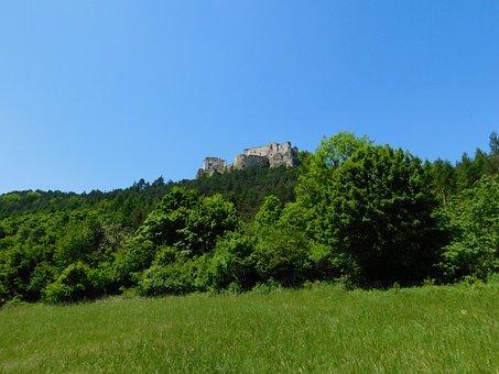 The Castle Lietava, Lietava Castle, Slovakia, Lietava
