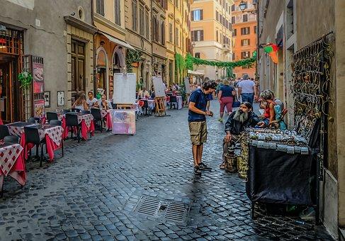 Rome, Roman, Italy, Italian, Souvenir, Shop, Tourist