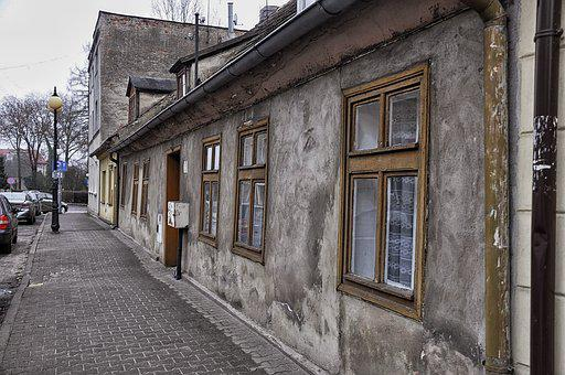 Street, Superstructure, Townhouses, Houses, Old Houses