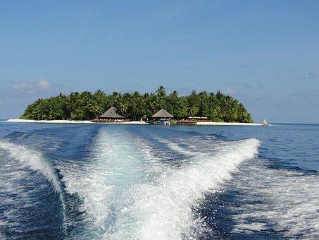 Maldives, Sea, Vacations, Island, Water, Angsana