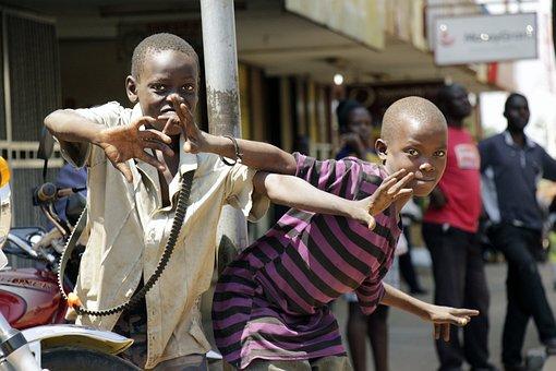 People Of Uganda, Children Of Uganda, Africa, Kids