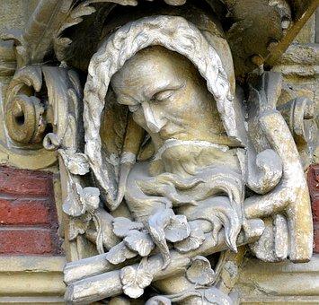 Stone Carving, Sculpture, Architecture, Art, Figure