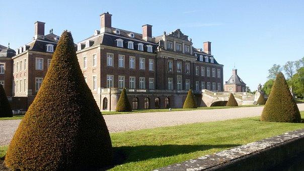 Castle, Münsterland, Baroque, North Churches