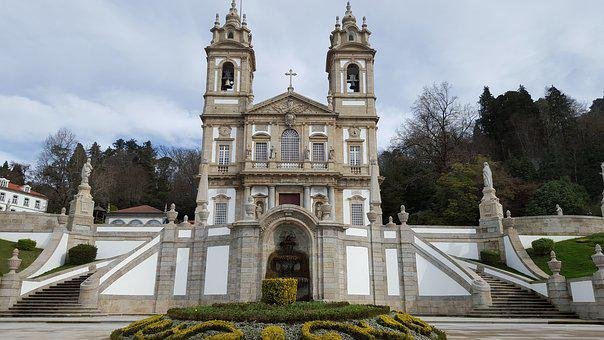 Bom Jesus, Braga, Sanctuary