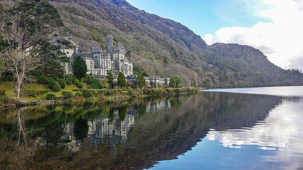Ireland, Kylemore Abbey, Castle, Connemara, Trip