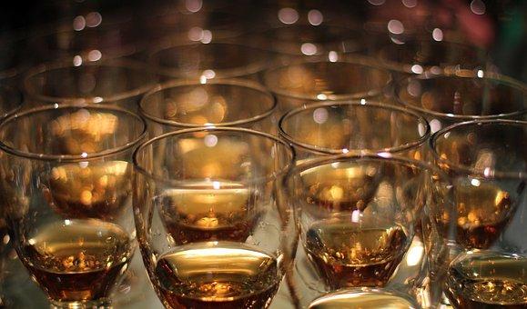 Whiskey, Glasses, Whiskey Glass, Alcohol, Drink, Bar