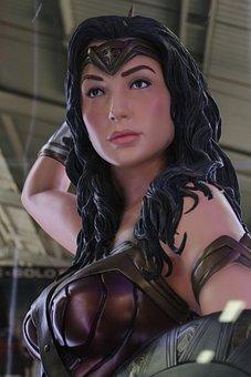 Wonder Woman, Comics, Marvel, Movie, Exhibition, Women