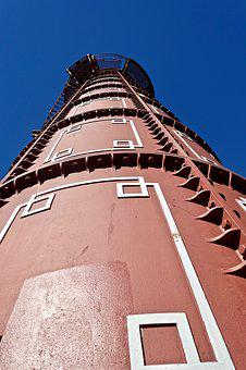 Perspective, Tower, Observatory, Metal, Architecture