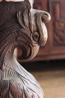 Aguila, Wood, Crafts, Old, Rustic, The Art, Texture