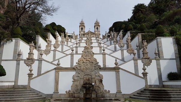 Bom Jesus, Braga, Staircase