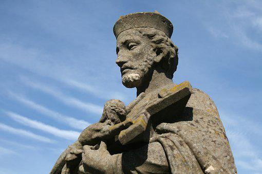 Nepomuk, Bridge Saint, Holy, Patron Saint, Statue