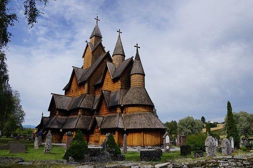 Norway 2015, Stave Church Heddal, Gigantic