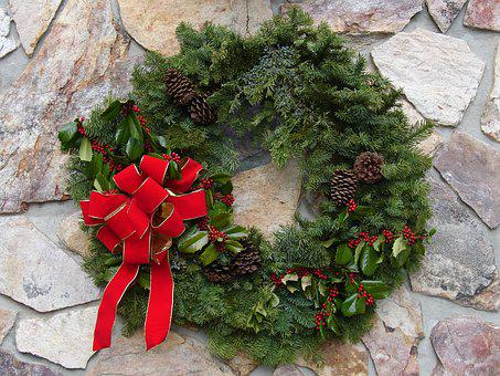 Christmas, Wreath, Holiday, Decoration, Celebration