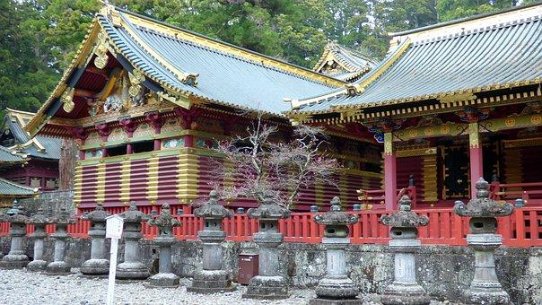 Nikko, Japan, Temple, Tosho-gu, Toshogu, Sacred, Zen