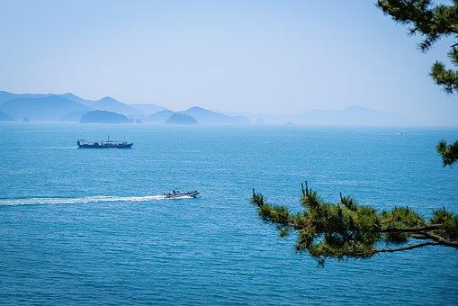 Tongyeong, Sea, Yi Park, 5 Of The Month, Sea Landscape