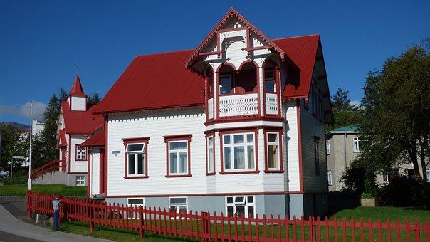 Akureyri, Iceland, Architecture, Church, House