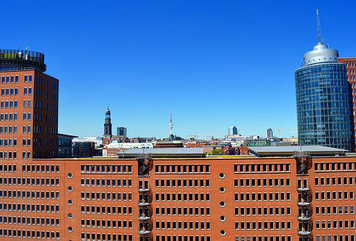 Hamburg, City, Hanseatic City, Port, Architecture