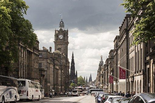 Edinburgh, Scotland, Cit, Uk, Architecture, Landmark